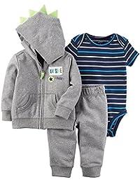 Baby Boys` 3-Piece Little Jacket Set