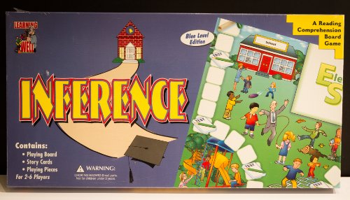 Amazon.com: Inference - Blue Level - A Reading Comprehension Board ...