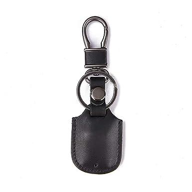 YNSH Estuche anti-llave para auto, llavero de cuero genuino ...