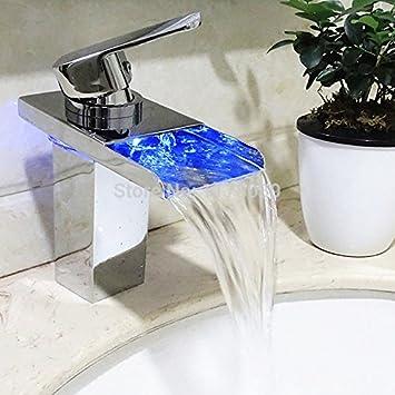 5151buyworld Top Qualität Wasserhahn Led Nachleuchtspray Temperatur