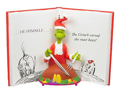 Hallmark 2016 Dr. Seuss The Grinch Christmas Ornament