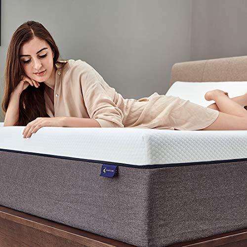 Queen Mattress, Ssecretland 10 inch Gel Memory Foam Mattress with CertiPUR-US Certified Foam (Mattress Only) Firm Feels-Bed Mattress in a Box, Queen Size