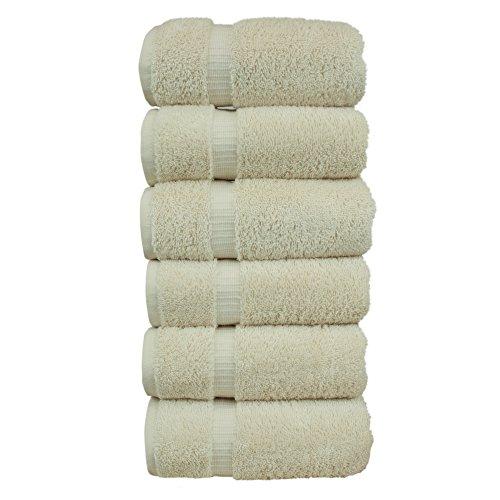 Cream Hand Towels - 2