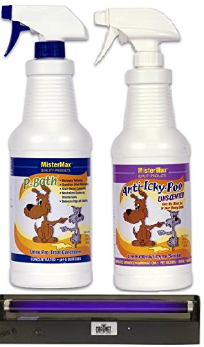 "Anti Icky Poo ""Unscented"" Odor Remover and P-bath Pre-treate"