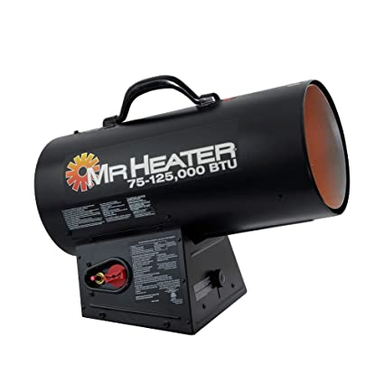 Forced Air Propane Heater >> Amazon Com Mr Heater 125 000 Btu Forced Air Propane Heater F271390