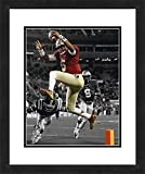 "NCAA Florida State Seminoles Jameis Winston, Beautifully Framed and Double Matted, 18"" x 22"" Sports Photograph"