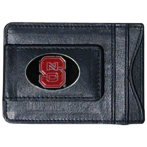 NCAA North Carolina State Wolfpack Cash and Card Holder - Nc State Wolfpack Money Clip