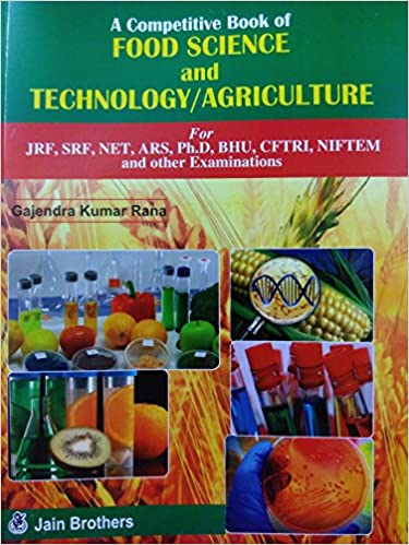 Buy A Competitive Book of Food Science and Technology & Agriculture