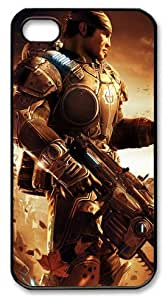 icasepersonalized Personalized Protective Case for iphone 4/4s - Gears of War 2 Flame Thrower