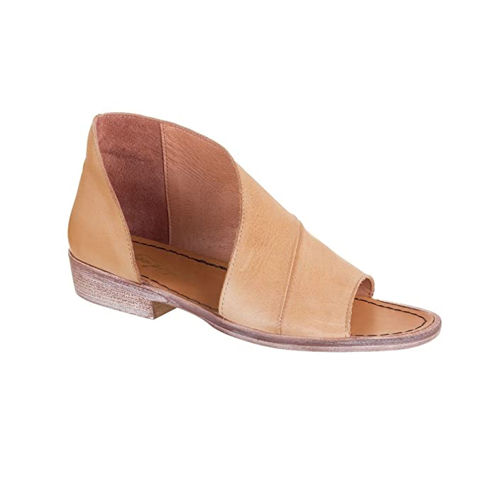Mont Blanc d'Orsay Leather Slip-On Sandals kQOCX3Tl