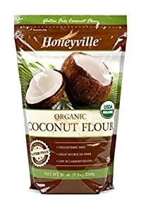 Organic Coconut Flour - 5 Pound Bag