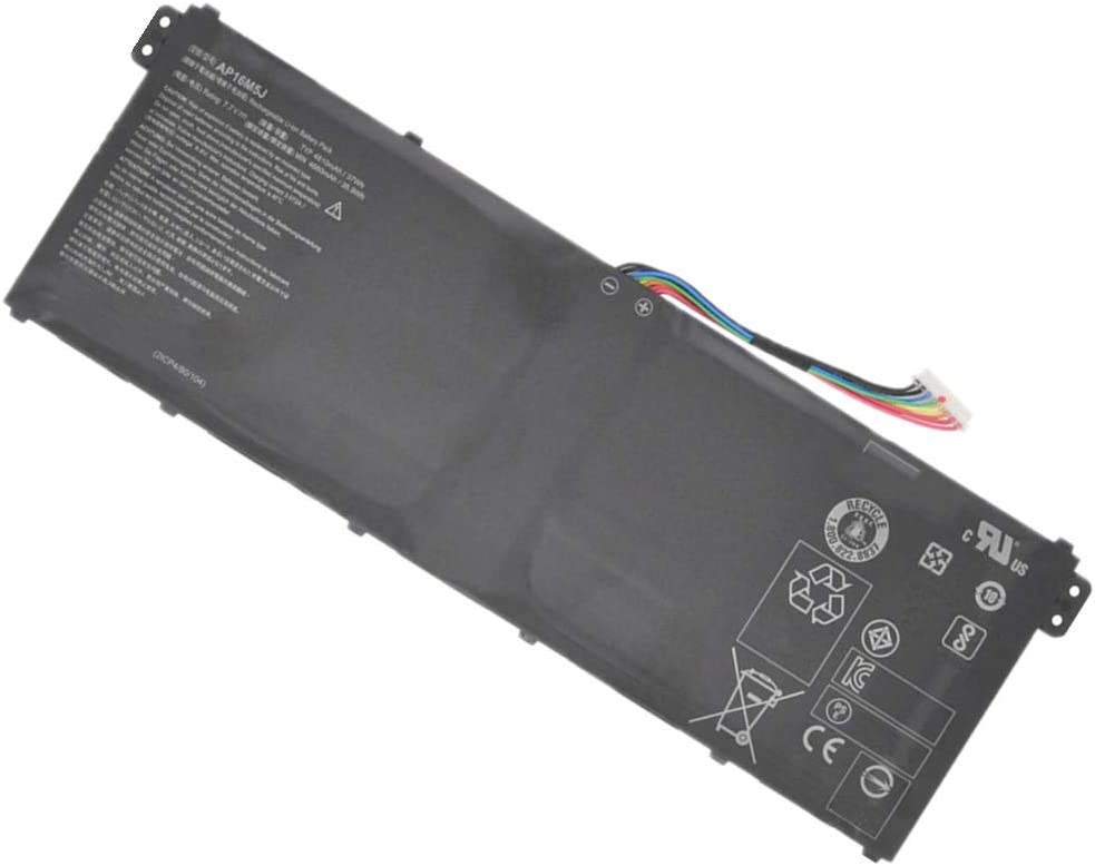Civhomy Replacement AP16M5J 4810mAh Battery Compatible with Acer Aspire 5 A515-51 Series A515-51-75UY A515-51-563W A515-51-50RR A515-51-53TH A515-51-55NB KT00205005 2ICP4/80/104 KT.00205.004 7.7V