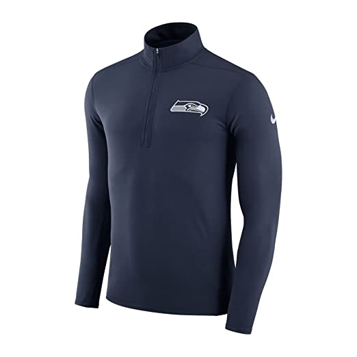 8c79718c Nike Men's Seattle Seahawks Dry Element Top College Navy/White Size X-Large