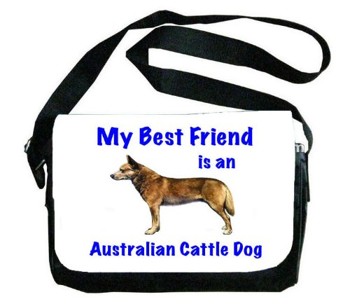 My Best Friend is Australian Cattle Dogメッセンジャーバッグ   B00EXC1294
