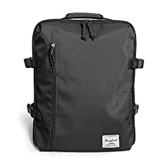 """Material: 100% Polyester  Size: 12""""L x 7""""W x 16""""H (protects up to a 15"""" MacBook)  Design: Rear interior section features garment restraints by X-shaped elastic straps. Back trolley straps quickly attach the bag to your luggage. 4 compression ..."""
