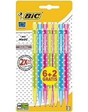 Bic Matic Combos - Portamine, confezione da 6 più 2 in omaggio