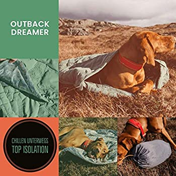 Image of Pet Supplies Hurtta - Outback Dreamer ECO Dog Sleeping Bag with Travel Bag for Camping, Hiking