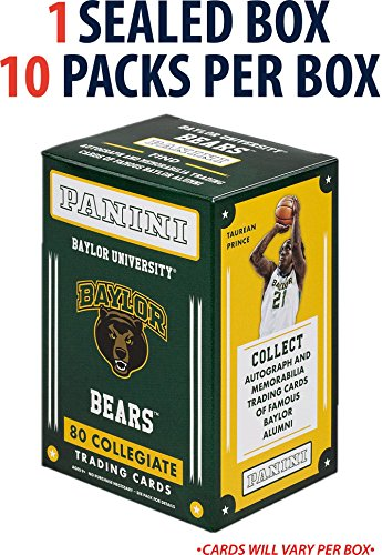 2015 Panini Baylor University (10 Pack Box) - Fanatics Authentic Certified - College Team Sets