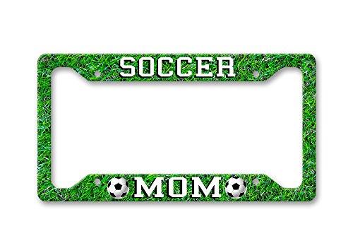 Soccer Mom - License Plate Frame LP1645