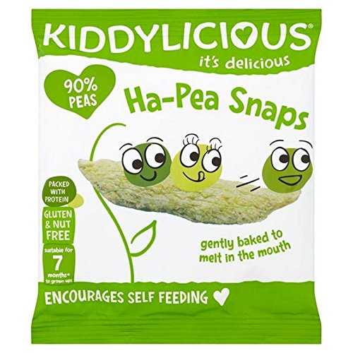 Kiddylicious Ha-Pea Snaps 15g (Pack of 2)