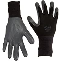 Showa Atlas 370 Black Work Gloves XL by SHOWA