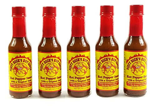 Dirty Dick's Tropical Twist Hot Sauce (5 PACK) by Dirty Dick's Tropical Twist Hot Sauce (5 PACK)