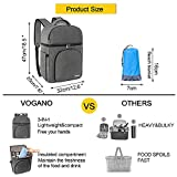 Vogano Beach Picnic Backpack for 2 Person Set with