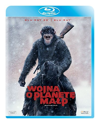 War for the Planet of the Apes [Blu-Ray]+[Blu-Ray 3D] (English audio. English subtitles)