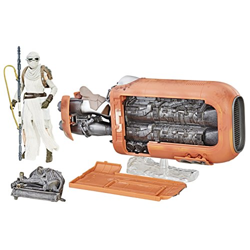 Star Wars The Black Series Reys Speeder (Jakku) and Figure