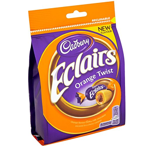 Cadbury Chocolate Eclairs Orange Twist