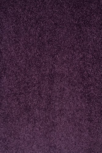 Home Cool Solid Colors Wind Dancer Collection Area Rugs Purple - 5x7