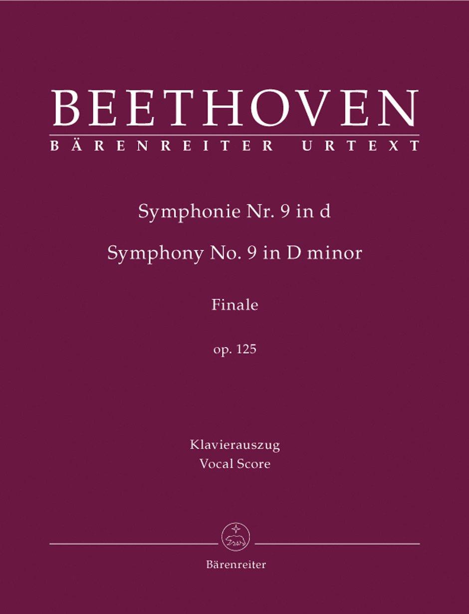 Beethoven: Symphony No  9, Op  125 [Vocal Score]: Ludwig van