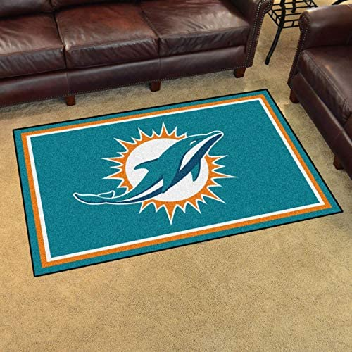 Fanmats NFL – Miami Dolphins 4 x 6 Rug