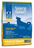 Natural Balance Alpha Grain-Free Chicken, Turkey Meal, and Duck Formula for Dogs, 25-Pound Bag, My Pet Supplies