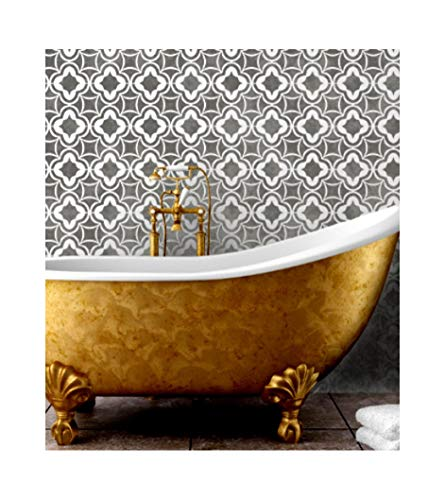ARABIAN NIGHTS Furniture Wall Floor Stencil for Painting - Wall Large