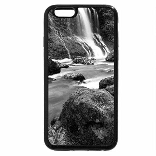 iPhone 6S Case, iPhone 6 Case (Black & White) - Boulder River