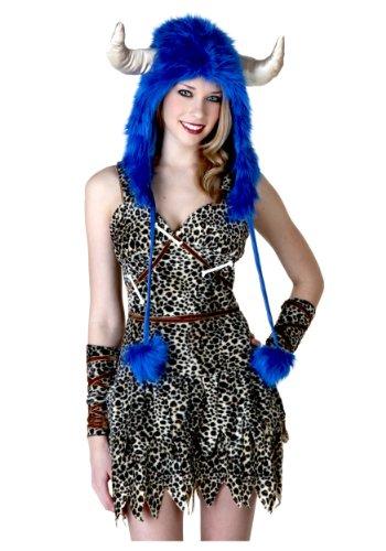 Fun Costumes womens Lodge Man Hood Standard (Cave Man And Woman Costumes)