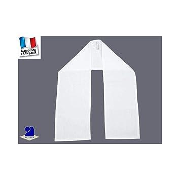 Poussin bleu - Etole de baptême coton blanc Couleur - Blanc  Amazon ... b439b38b30b