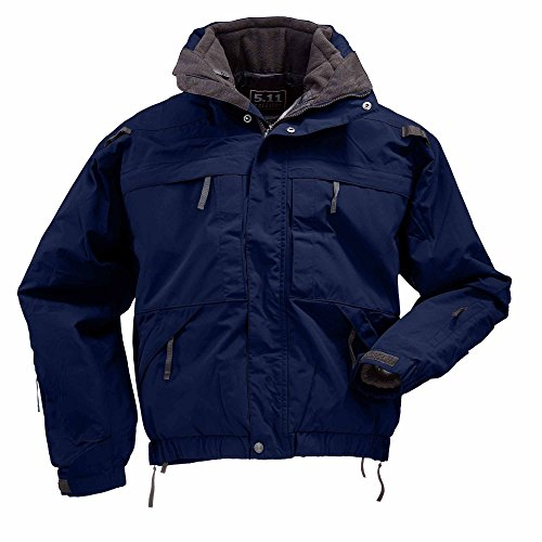 Jackets Outerwear Tactical 5.11 (5.11 Tactical 5-In-1 Jacket, 5X-Large, Dark Navy)