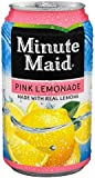 Minute Maid Pink Lemonade, 12 oz Can (Pack of 12)