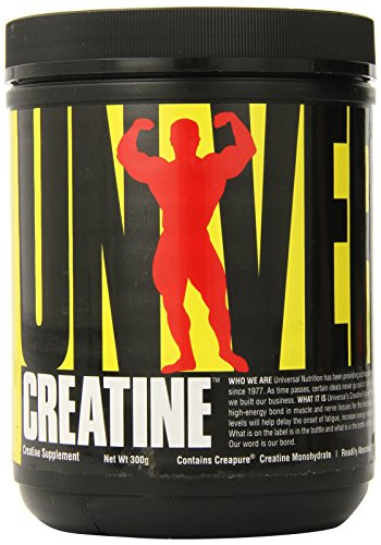 Universal Micronized Creatine Powder (Universal Nutrition 100% Pure Creapure® Creatine Monohydrate Powder 300g)