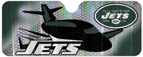 NFL New York Jets Sun Shade (Car Sunshade Team)