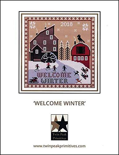 Cross Welcome Chart Stitch (Welcome Winter Cross Stitch Chart)