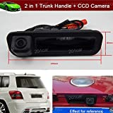 2 in 1 Replacement Car Trunk Handle + CCD Rear View Backup Reverse Parking Camera For Ford Focus Sedan 2011 2012 2013 2014 2015 2016 2017 2018 Review