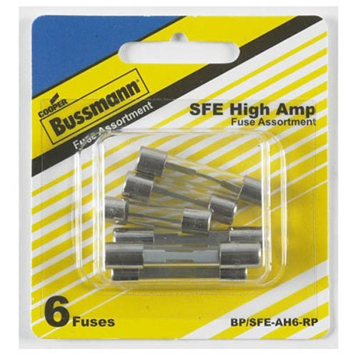 Buss Auto Sfe-Ah Assortment Fuses 24 V 5 / Carded (Assortment Carded)