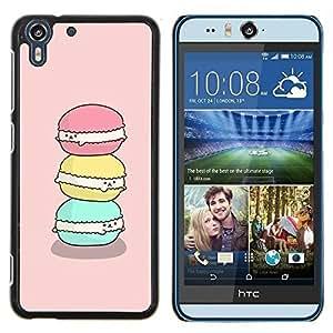 Stuss Case / Funda Carcasa protectora - Bakery cuisson rose - HTC Desire Eye M910x