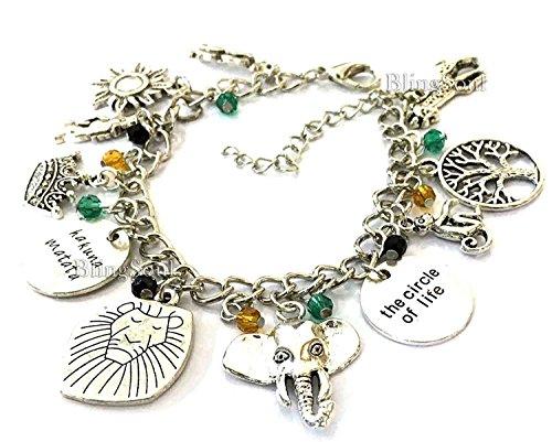 King Costume Jewelry (Lion King Jewelry Bracelet - Disney Costume Jewelry For Women)
