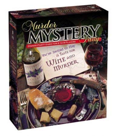 Murder Mystery Party - You're Invited to Play A Taste for Wine and Murder
