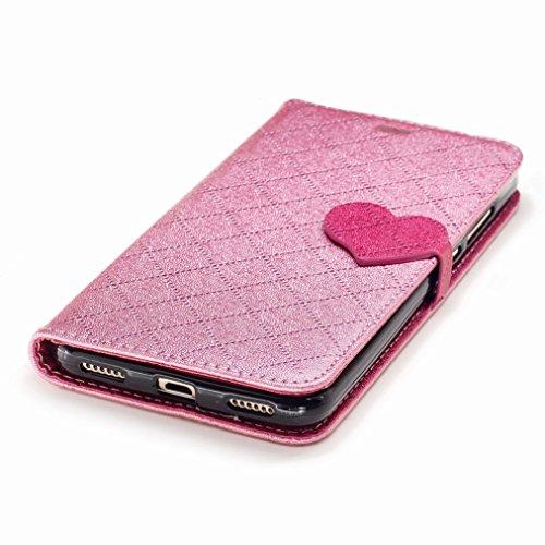 Yiizy Huawei Honor Holly 3 / Huawei Y6 II Funda, Amar Diseño Solapa Flip Billetera Carcasa Tapa Estuches Premium PU Cuero Cover Cáscara Bumper Protector Slim Piel Shell Case Stand Ranura para Tarjetas