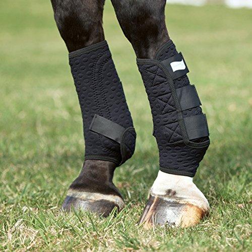 Equilibrium Stretch & Flex Training Wraps LG Black (Wraps Flex Training)